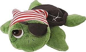 Li'l Peepers Turtles - 'Pirate' small green Turtle, by Suki Gifts por Dropship - BebeHogar.com