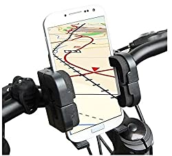 2010kharido Universal Bike Bicycle Mobile Cell Holder Stand Mount Bracket For All Phones
