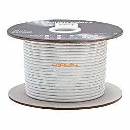 Cmple - 16AWG CL2 Rated 2-Conductor Speaker Cable - 250ft For In-Wall Install.