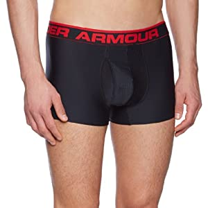Under Armour The Original 3'' Caleçon de sport Homme Noir FR : L (Taille Fabricant : LG)