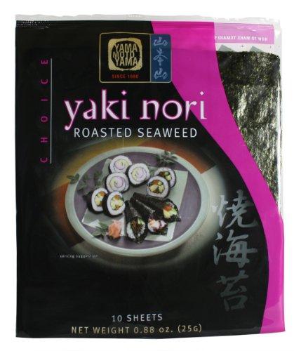 Yamamotoyama Yaki Nori Roasted Seaweed Choice, 0.88-Ounce Bags (Pack of 8)
