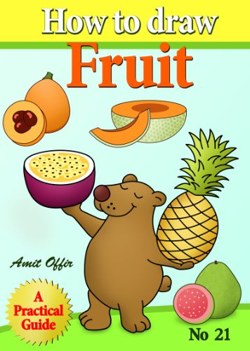 how to draw fruit step by step (how to draw comics and cartoon characters)