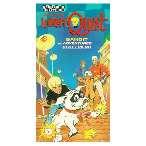 Com jonny quest bandit in adventures best friend vhs jonny quest
