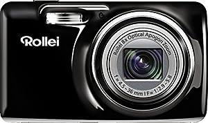 Rollei Powerflex 605 Kamera (16 Megapixel, 7,62 cm (3 Zoll) LCD, 720p, HD Video-Funktion) für Kinder/Sportaufnahmen schwarz