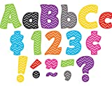 Teacher Created Resources Chevron Funtastic 4-Inch Letters Combo Pack