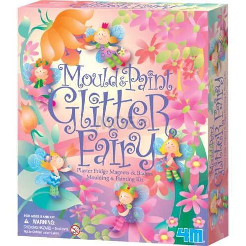 Mould &#038; Paint Glitter Fairy Plaster Kit