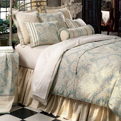 Carlyle Duvet Cover - Super Queen - Frontgate back-4723