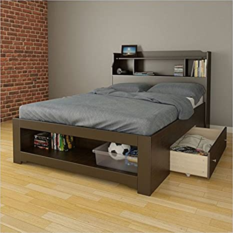 Nexera Dixon 2 Piece Full Bedroom Set in Espresso