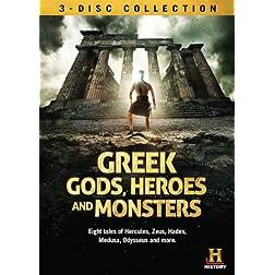 Greek Gods Heroes & Monsters