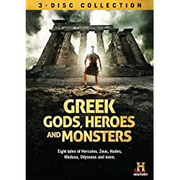 Greek Gods Heroes & Monsters