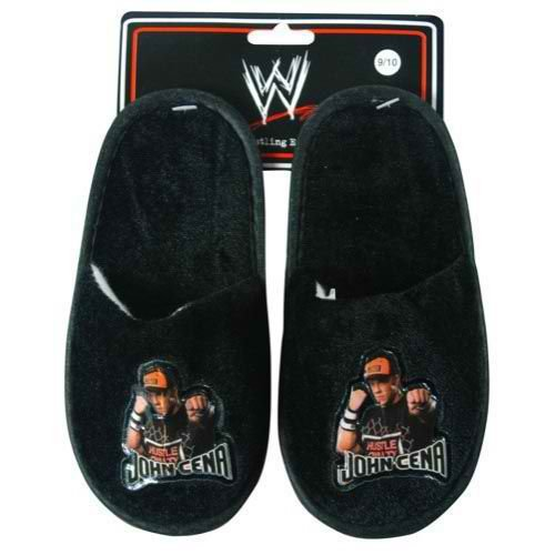 Hot Deals WWE Kids Todler Velvet Slippers featuring John Cena size 7 ...