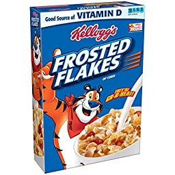 Kellogg\'s Frosted Flakes, 19 Ounce (Pack of 14)