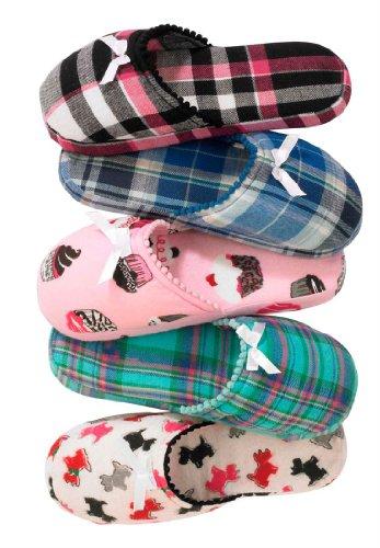Cheap Dreams & Co® Dreams and Co flannel slipper (0015-96503)