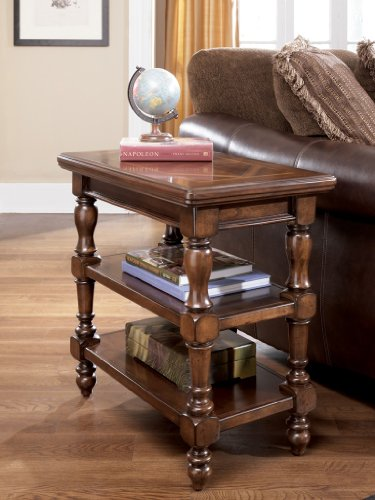 "Cheap DarkBrown Chair Side End Table by ""Famous Brand"" Furniture (T602-7)"