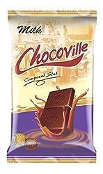 Chocoville Compound Chocolate slab, Milk - 500 gms