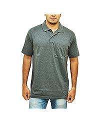 Duke Men Basic Polo Grey Collar Tshirt By Returnfavors