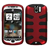 Fishbone Design Hybrid Hard/Gel Phone Cover Protector Case for T-Mobile HTC ....