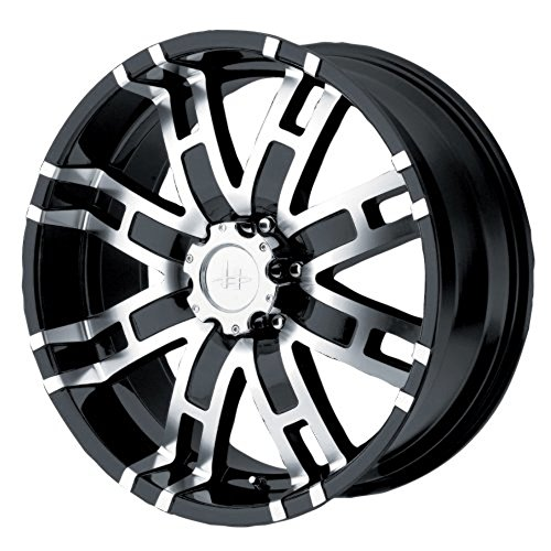 Helo HE835 Gloss Black Wheel With Machined Face (20x9