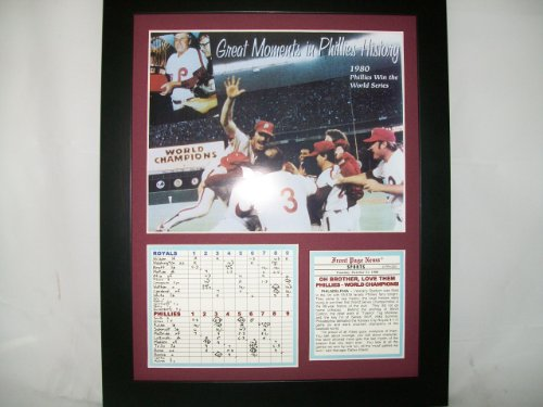 11x14 Framed 1980 World Series Champions Philadelphia Phillies at Amazon.com