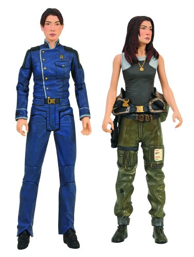 Picture of Diamond Comics Battlestar Galactica: Boomer & Athena Action Figure Two-Pack (B00283JHFQ) (Diamond Comics Action Figures)