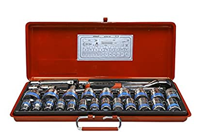 S11M/S11H-1/2-Inch-Square-Drive-Socket-Set