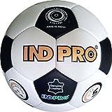 Indpro Unisex Football 5 White Black