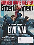 Entertainment Weekly April 22/29, 2016 Captain America: Civil War Cover 1 Team Cap: Hawkeye, Scarlet Witch & Winter Solider