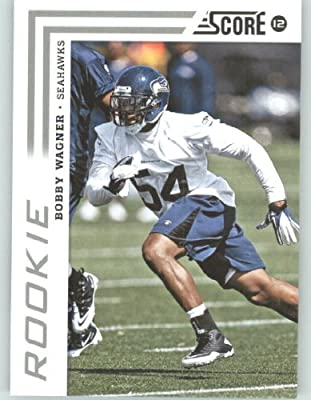 2012 Score Football Card #307 Bobby Wagner RC - Seattle Seahawks (RC - Rookie Card)(NFL Trading Card)