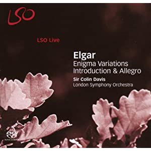 Elgar - Enigma Variations; Introduction & Allegro (LSO, Davis)