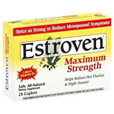 Estroven Menopause Relief, Maximum Strength, Caplets, 28 caplets