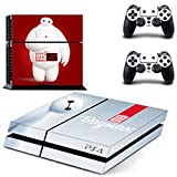 eXtremeDecal A.I. Robot Wrap Body Skin Sticker Decal for Playstation 4 PS4 Console and Controllers