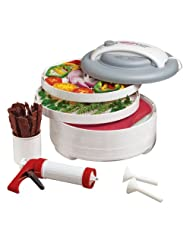 Nesco American Harvest FD-61WHC Snackmaster Express Food Dehydrator All-In-One Kit with... by Nesco