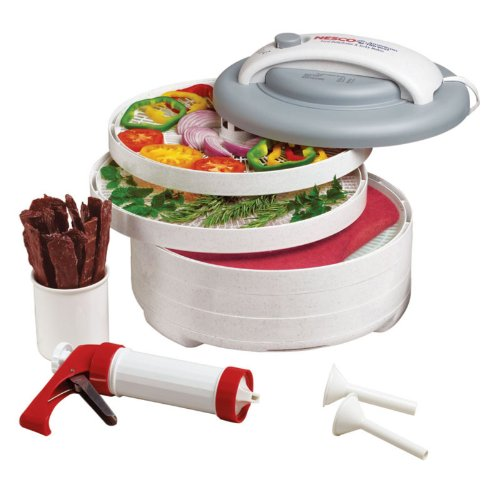 Learn More About Nesco American Harvest FD-61WHC Snackmaster Express Food Dehydrator All-In-One Kit ...