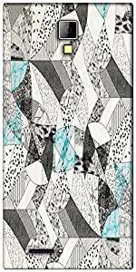 Snoogg abstract math Designer Protective Back Case Cover For Micromax Canvas Express A99