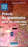 echange, troc Maingueneau d - Precis de grammaire pour les concours 3eced