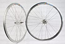 Wheel Master Weinmann DP18 Wheel Set - 700c, 32H, Fixie, All-Silver