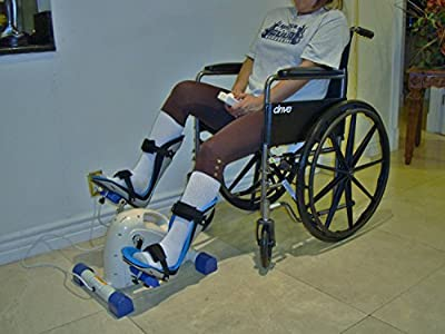 Sago® Foot Splints for Motorized Exercise Cycles / for the Handicap & Disabled (Sold in Pairs)