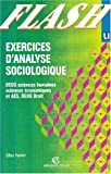 echange, troc Ferreol - Exercices d'analyse sociologique , DEUG sciences humaines, DEUG sciences économiques et AES, DEUG droit