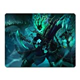 Ting League of Legends Heros the Chain Warden Thresh Mouse Mat Pad (S(220x180x5mm))
