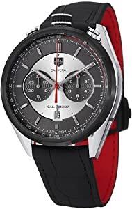 Tag Heuer Carrera Jack Heuer Edition Automatic Chronograph Silver & Grey Dial Mens Watch CAR2C11FC6327