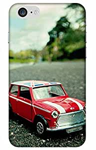 iessential car Designer Printed Back Case Cover for Apple iPhone 7