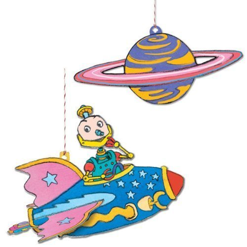 Floating Robot with Stars - 1