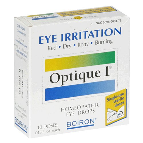 Boiron Optique 1 Eye Drops, 10 - 0.12 -Fl.Ounce Doses (Pack of 3)
