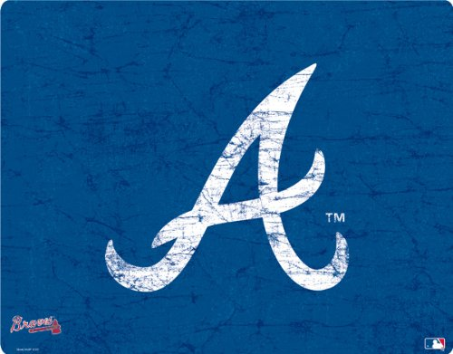 MLB - Atlanta Braves - Atlanta Braves - Solid Distressed - Motorola Droid 2 - Skinit Skin цена и фото