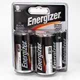 Energizer D-Cell 4-Pack