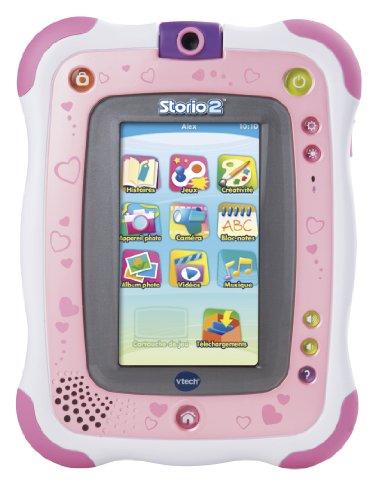 VTECH Tablette multimédia Storio 2 rose + appareil photo intégré