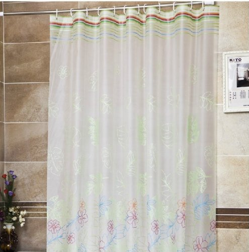 curtain shower x deal in shop yellow fabric stall spectacular on waffle hookless
