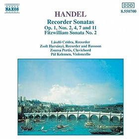 Recorder Sonata in F major Op. 1, No. 11, HWV 369: III. Siciliana