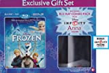 Frozen [Blu-ray + DVD + Digital HD Digital Copy + Infinity Anna Figure] (Widescreen)