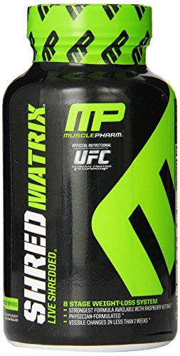 Muscle Pharm Shred Matrix, 120 Capsules